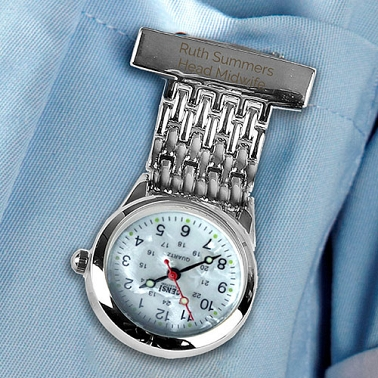 Personalised Nurses Fob Watch Delivery UK