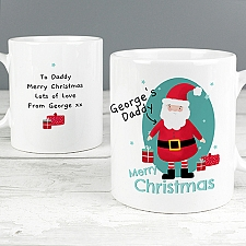 Personalised Mr Claus Mug Delivery UK