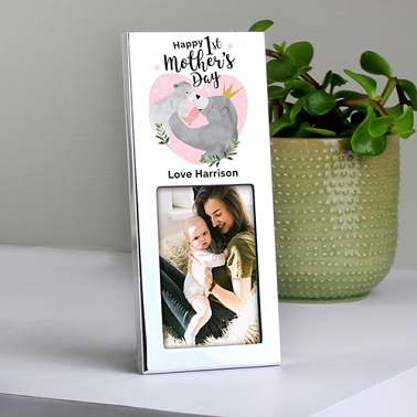 Personalised Mama Bear Photo Frame Delivery UK