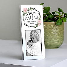 Personalised Rose Photo Frame Delivery UK