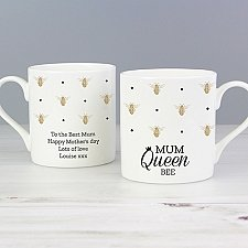 Personalised Queen Bee Balmoral Mug Delivery UK