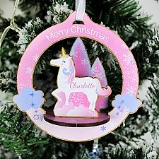 Personalised Make Your Own Unicorn 3D Decoration Kit Delivery UK