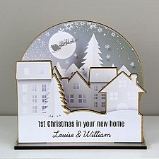 Personalised Make Your Own Town 3D Decoration Kit Delivery UK