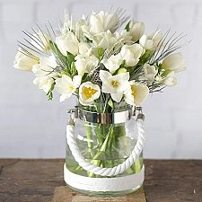 Winter Tulips and Freesias Delivery to UK