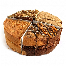 Quirky 4 Sharing Sponge Cake delivery to UK [United Kingdom]