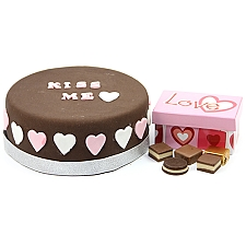 Kiss Me Cake and Chocolates Delivery UK