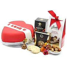 Red Heart Hamper Delivery to UK