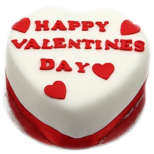 Happy Valentines Day Cake Delivery UK