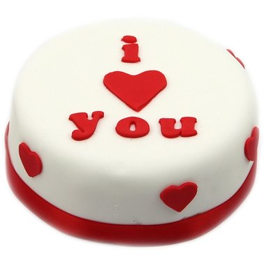 I Heart You Cake Delivery to UK