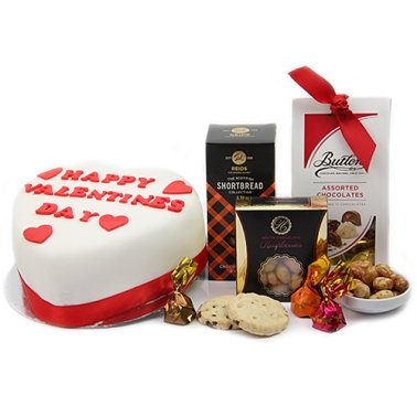 Happy Valentine Hamper Delivery to UK