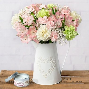Mothers Day Candle Gift Delivery UK