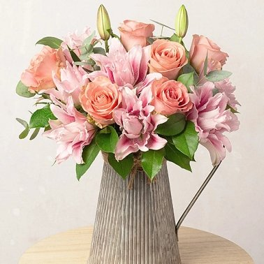 Rose and Lily Bouquet Delivery to UK