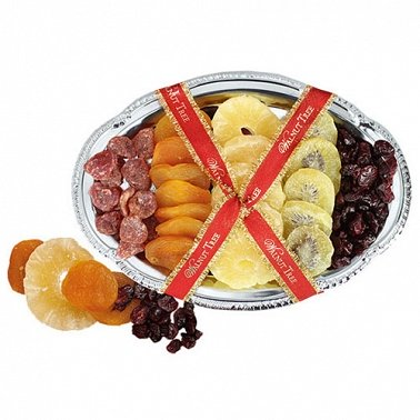 Silver Dried Fruit Tray