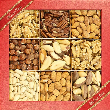 Assorted Natural Nut Box