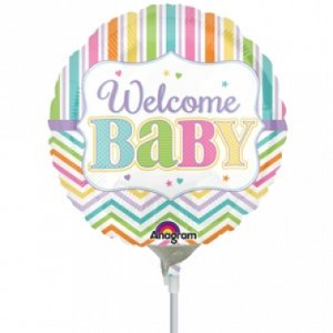 Baby Brights Mini Foil Balloon
