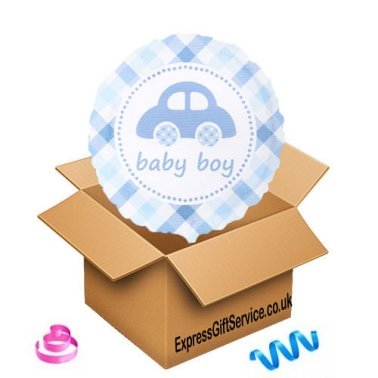 Baby Boy Balloon delivery to UK [United Kingdom]