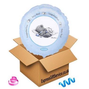 Baby Boy Congratulations Balloon Delivery UK