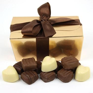 Assorted Milk Chocolate Ballotin Gift Box delivery to UK [United Kingdom]