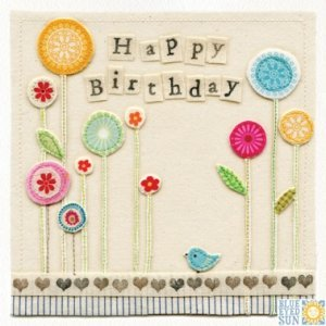 Birthday Garden Card