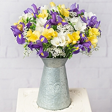 Iris and Freesias Delivery to UK