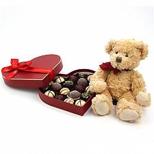 Love Bear Chocolate Gift