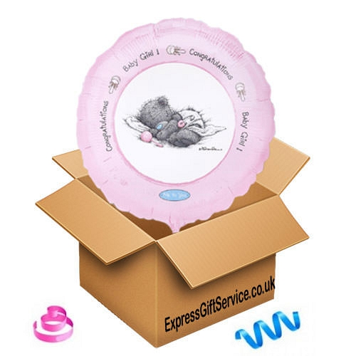 Baby Girl Congratulations Balloon Delivery UK