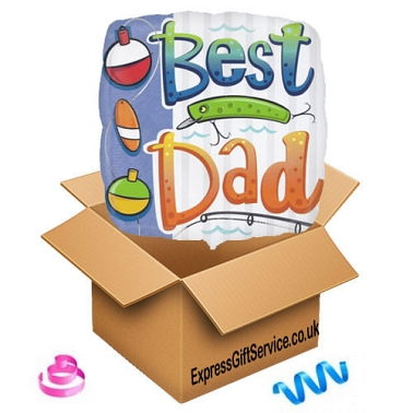 Best Dad Balloon delivery to UK