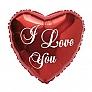 I Love You Balloon UK