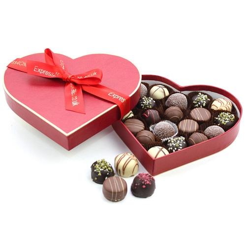 Chocolate Pralines Box Delivery UK
