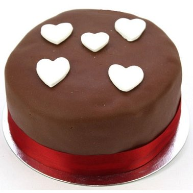Chocolate Heart Cake delivery to UK [United Kingdom]