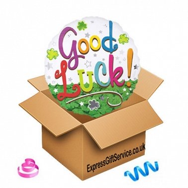 Good Luck Clover Balloon delivery to UK [United Kingdom]