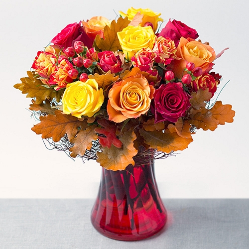 Autumn Roses Delivery to UK