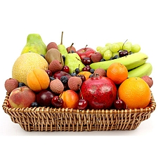 Cherry Berry Fruit Basket delivery to UK [United Kingdom]