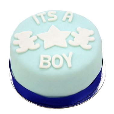Egg Free Its a Boy Cake delivery to UK [United Kingdom]