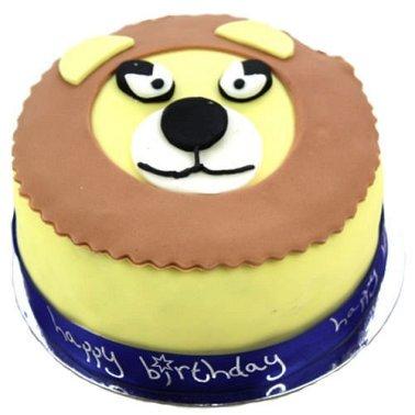 Lion King Celebration Cake delivery to UK [United Kingdom]