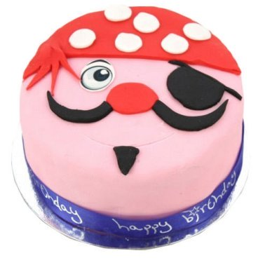 Pirate Cake delivery to UK [United Kingdom]
