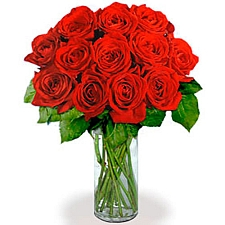 12 Extra Long Stemmed Red Roses delivery to Canada