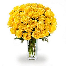 36 Long Stemmed Yellow Roses delivery to Canada