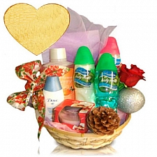 Deluxe Spa Basket delivery to Canada