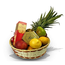 Fruit and Cheese Delight delivery to Canada