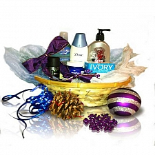 Men's Spa Basket delivery to Canada