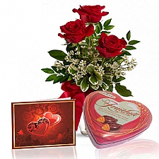 Roses & Chocolates Special delivery to Canada