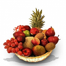Super Deluxe Fruit Basket delivery to Canada