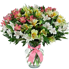 Alstroemerias in a Vase delivery to Canada