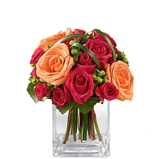 Deep Emotions Rose Bouquet delivery to Canada