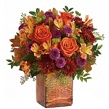 Golden Amber Bouquet delivery to Canada