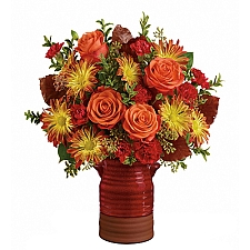Heirloom Crock Bouquet delivery to Canada