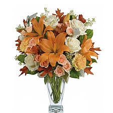 Seasonal Sophistication Bouquet delivery to Canada