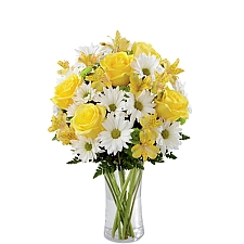 Sunny Sentiments Bouquet delivery to Canada