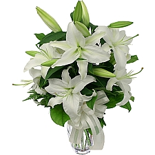 White Lilies delivery to Canada